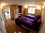 The calf Shed twin room