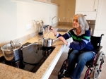 Accessible Kitchen in The Calf shed