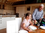 The Calf Shed kitchen