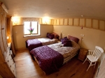 the Accessible Bedroom in the Calf shed